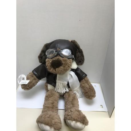 Plush Dog Aviator